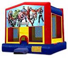 MODULE JUMPER 2 IN 1 AVENGERS  (basketball hoop included)